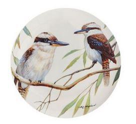 Maxwell and Williams Eric Shepherd Kookaburra Decal Cake Plate - 20Cm Multi Colour