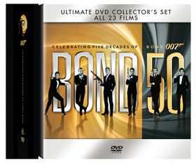 James Bond Box Set (23 Titles)(DVD)