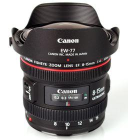 Canon EF 8-15mm f4.0 L Fisheye USM Lens