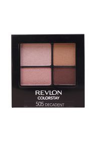 Revlon ColorStay 16 Hour Quad Eyeshadow - Decadent