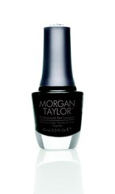 Morgan Taylor Nail Lacquer - Little Black Dress (15ml)