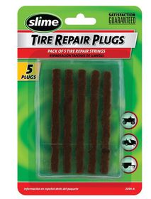 Slime - Tyre Repair Plugs - Pack of 5