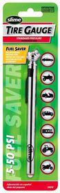 Slime - 5-50 PSI Pencil Tyre Gauge - Standard Pressure