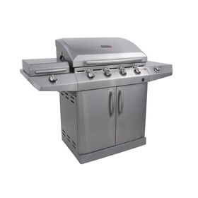 Char-Broil - 4 Burner Tru-Infrared Auto-Clean Grill 580IN2 - Stainless Steel