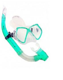 Bestway - Silicone Mask & Snorkel Combo Green