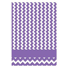 "Couture Creations The Harmony 5 x 7"" Embossing Folder – Chevron"