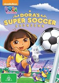 Dora The Explorer: Dora's Super Soccer Showdown (DVD)