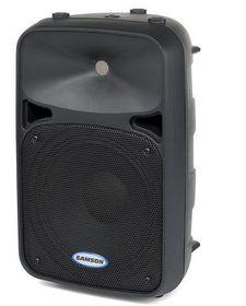 Samson Audio Auro D210A 10 Inch Active Speaker - 200 Watt Black