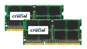 Crucial 16GB (2x 8GB) DDR3 1333MHz MAC SO-Dimm Memory Upgrade Kit