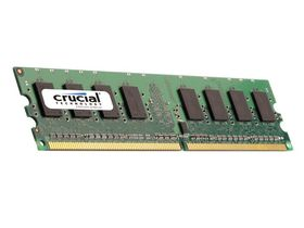 Crucial 1866 MHz DDR3 ECC UDIMM Memory Kit - 8GB