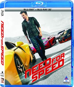 Need For Speed (3D / 2D Hybrid Blu-ray)