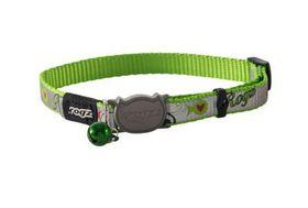 Rogz - Catz ReflectoCat Small Reflective Safeloc Breakaway Cat Collar - Lime