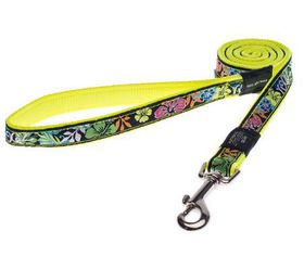 Rogz - Fancy Dress Extra-Large Armed Response Fixed Dog Lead - Floral