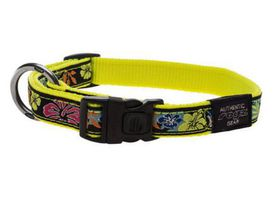 Fancy Dress Extra Extra Large Special Agent Dog Collar - Floral