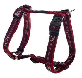 Fancy Dress Large Beach Bum Dog H-Harness - Red
