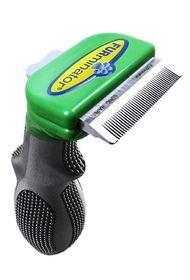 Long Hair - deShedding Tool for Small Dogs - 8019
