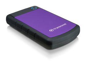 """Transcend 2TB Rugged USB3.0 Hard Drive 2.5"""" - Purple"""