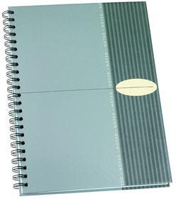 Bantex Noted Range Hard Casemade Cover - Silver