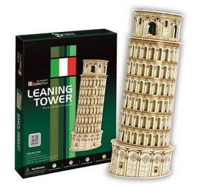 Cubic Fun Leaning Tower of Pisa Italy - 13 Piece 3D Puzzle