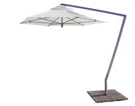Cape Umbrellas - 3m Speciality Line Britannia Hexagonal Umbrella - White