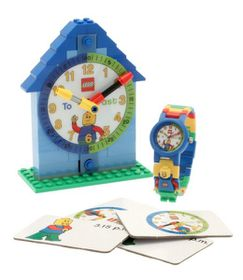 LEGO Time Teacher with Minifigure Link Watch - Boy