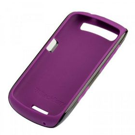 BlackBerry Curve 9360 Premium Skin - Black & Royal Purple