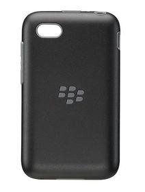 BlackBerry Q5 Premium Shell - Black & Granite Grey