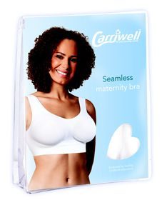 Carriwell - Seamless Maternity Bra - White (Size: XX-Large)