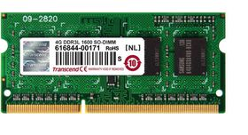 Transcend 4GB DDR3-1600 Low Voltage Notebook Memory
