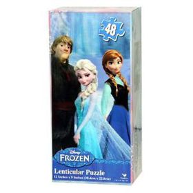 Frozen Lenticular Tower Puzzle