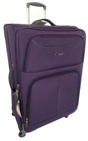 Tosca 50cm Platinum Cabin Case - Purple & Dark Grey