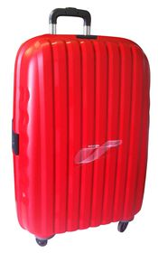 Tosca Airmax TSA Injection Mould PP Trolley Case - Red