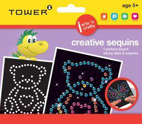 Tower Kids Creative Sequins - Bear