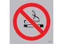 Tower Aluminium Deep Etched Sign - No Smoking