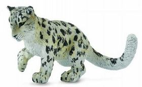 CollectA Snow Leopard Cub Playing - Medium