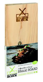 My Butchers Block - 2 Pack Braai Board - Cherry
