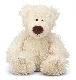 Melissa & Doug Baby Roscoe Bear - Vanilla