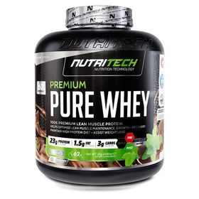 Nutritech Premium Pure Whey - Strawberry 2kg