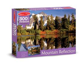 Melissa & Doug Mountain Reflection Jigsaw Puzzle - 300 Piece