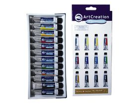 ArtCreation Expression Oil Colour 12 x 12ml Set