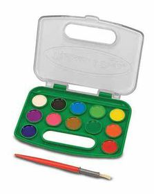 Melissa & Doug Take-Along Watercolour Paint Set