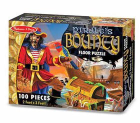 Melissa & Doug Pirate Bounty Floor Puzzle - 100 Piece