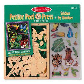 Melissa & Doug Petite Peel and Press - Rain Forest
