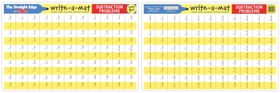 Melissa & Doug Subtraction Problems Write-A-Mat - Bundle of 6