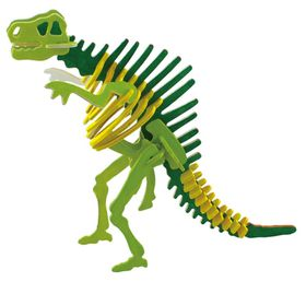 Robotime 3D Wooden Puzzle With Paints - Spinosaurus
