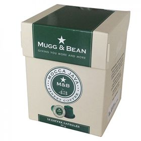 Mugg & Bean Moco Java Coffee Capsules
