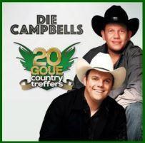 Die Campbells - 20 Goue Country Treffers (CD)