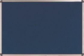 Nobo Elipse Felt Notice Board 450mm x 600mm - Blue