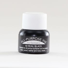 Tsukineko All Purpose Ink - Real Black