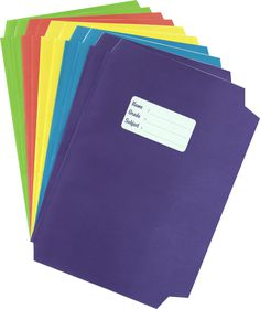 Butterfly Precut A4 Bright Book Covers 10's